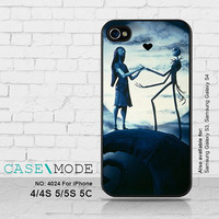 The Nightmare Before Christmas, iPhone 5 case iPhone 5C Case, iPhone 4 Case, iPhone 5s, Samsung Galaxy S3 S4 Galaxy S5 Note 2 Note 3 - 4024