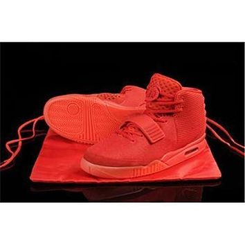 Air Rerto Y2 Kanye Skate Boarding Red October West Mens Sports Athletic Basketball Shoes Bottom Trainers Super Sneakers