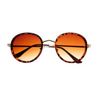 Unisex Retro Vintage Fashion Style Round Sunglasses Shades R3080