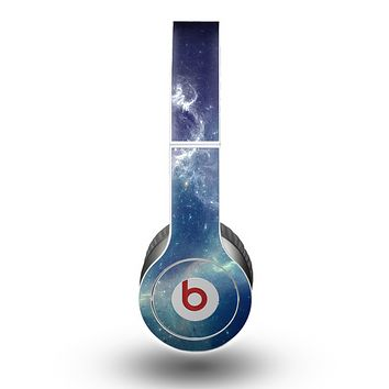 The Subtle Blue and Green Nebula Skin for the Beats by Dre Original Solo-Solo HD Headphones