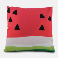 watermelon / outdoor box floor cushion
