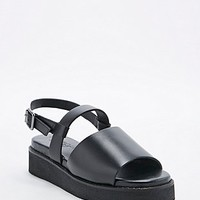 Out From Under Bentley 2-Part Sandals in Black - Urban Outfitters