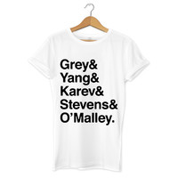Grey Anatomy Squad T-Shirt