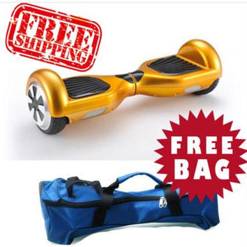 Electric Smart Self Balancing Scooter Hover Board Unicycle Balance 2 Wheel + FREE CARRY BAG - Limited Time Offer!