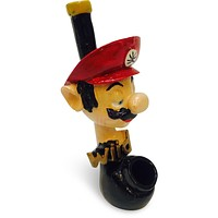 Resin Pipe - Red Eye Mario
