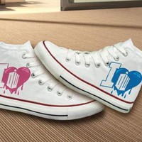 DCCK8NT doctor who converse shoes