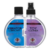 Trinity Vibrator Lube and Toy Cleaner Set