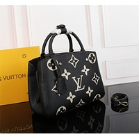 lv louis vuitton women leather shoulder bags satchel tote bag handbag shopping leather tote crossbody 304