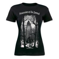 PROCESSION OF THE DAMNED WOMENS TEE
