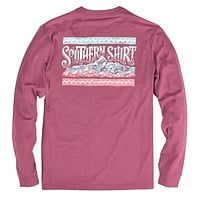Sunset Ridge Long Sleeve Tee in Sonoma by The Southern Shirt Co.