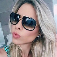 Women Sunglasses 2016 Men ITALY Luxury Brand Sunglasses HD Driving Sun Glasses For Men Pilot Square Shades Oculos Sun