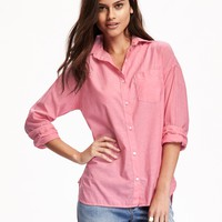 Perfect Boyfriend Shirt for Women | Old Navy