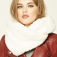 Faux Shearling Infinity Scarf