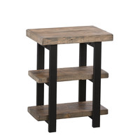 Sylvan Natural 2 Shelf End Table