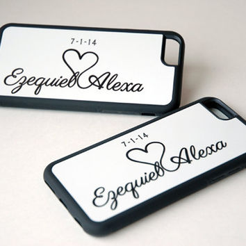 Matching Couples Phone Cases for iPhone