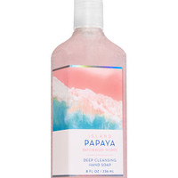 Island Papaya Deep Cleansing Hand Soap | Bath & Body Works