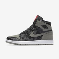 AIR JORDAN 1 RETRO HIGH PREMIUM Camo Black/Dark Stucco/White/Black AA3993-034