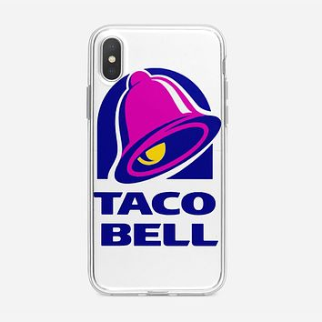 Taco Bell  Tshirt White iPhone XS Case