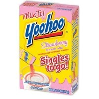 Yoohoo Strawberry Flavor Mix Packets Singles to Go