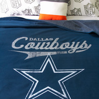 Aeropostale  Mens Dallas Cowboys Throw Blanket - Blue