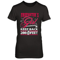 Firefighters Girl - Keep Back 200 Feet