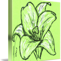 """Green Lily"" by Nicole Porter"