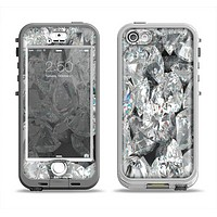 The Scattered Diamonds Apple iPhone 5-5s LifeProof Nuud Case Skin Set