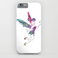 Tinker Bell iPhone & iPod Case by Bitter Moon