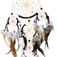 Black and White Leather - Dreamcatcher