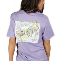 Preppy Fixins Tee by LAUREN JAMES {Lavender}