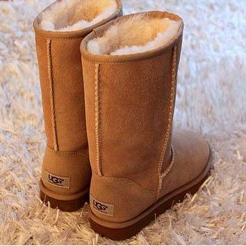 UGG Classic Boots Wool Fur Boots High Shoes Boots