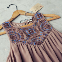 Winter in Madrid Tunic Dress