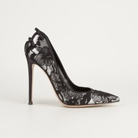 GIANVITO ROSSI lace pump