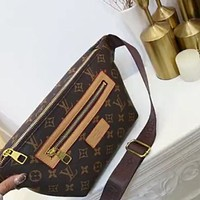 LV 2020 new personality wild female waist bag chest bag shoulder bag