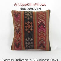 embroidered pillow antique kilim pillow pillowcases sofa furniture pillow living room decor decorative pillows 000726