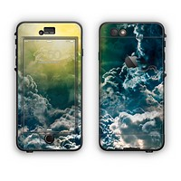 The Bright Sun Over Cloud-Magic Apple iPhone 6 LifeProof Nuud Case Skin Set