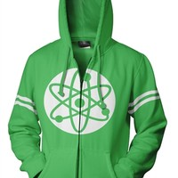 Big Bang Theory Atom Hoodie and more fun TV show Sweatshirts and Hoodies available from OldSchoolTees.com