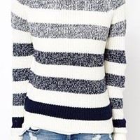New Look Ombre Stripe Jumper