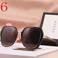 Gucci Women Fashion Summer Sun Shades Eyeglasses Glasses Sunglasses
