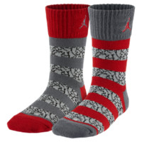 Jordan Elephant Stripe Crew Kids' Socks (2