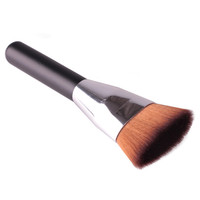 Professional Soft Flat Blush Foudation Liquid Makeup Brush Head Contour Cosmetic