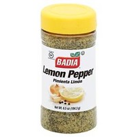 Badia Lemon Pepper Seasoning - 6.5 oz