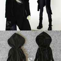 BJD Clothes Girl/Boy Black Coat for SD/MSD/70cm Ball-jointed Doll_CLOTHING_Ball Jointed Dolls (BJD) company-Legenddoll