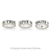 """True Love Waits"" Ring from James Avery"