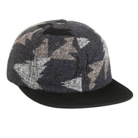 Huf: Apache 6 Panel Hat - Black
