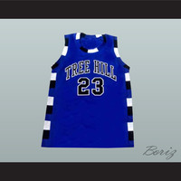 Nathan Scott 23 One Tree Hill Ravens Blue Basketball Jersey Any Player