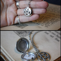 Supernatural Protection Necklace - Sea Salt Protection Locket