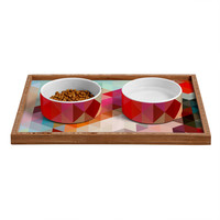 Three Of The Possessed Words Heavy 2 Pet Bowl and Tray