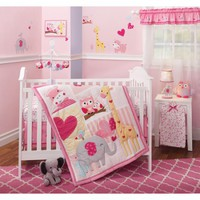 Bedtime Originals Bubblegum Jungle 3-Piece Bedding Set - Walmart.com