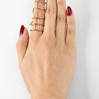 Cage Constructed Ring